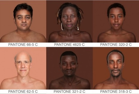 The Humanæ art project catalogs human skin tones | art, education, and community | Scoop.it