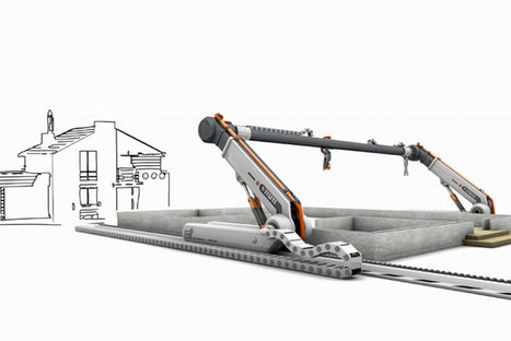3D Printer Can Build a 230-square-metre House in 20 Hours | Science | Scoop.it