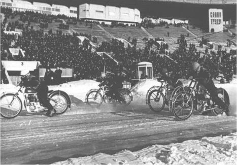 Histoire des Courses sur Glace! | Classic Motorbike | Scoop.it