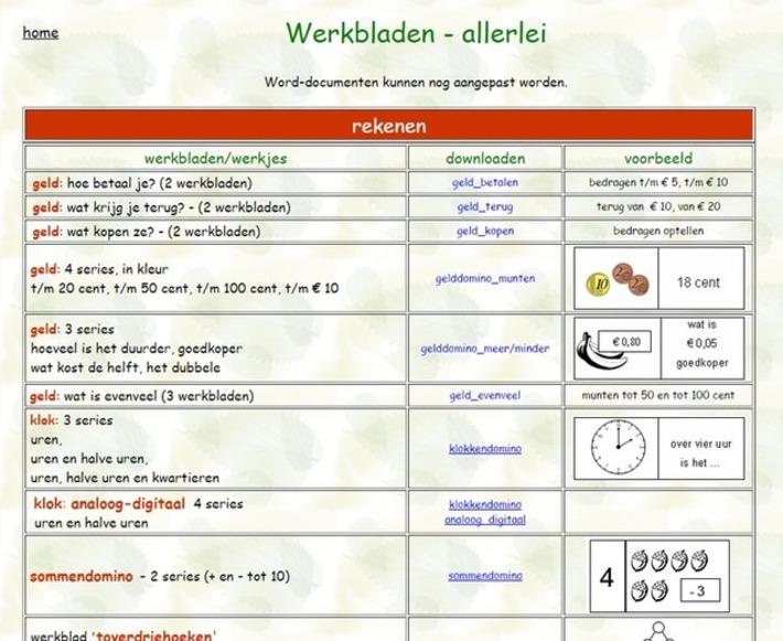 Edu-Curator: Gespot! Een website met heel veel gratis te downloaden werkbladen | Educatief Internet - Gespot op 't Web | Scoop.it