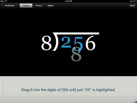 Long Division iPad App | iPad i undervisningen | Scoop.it