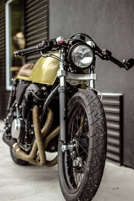 Honda CB750 Custom by Purebreed Fine Motorcycles - Silodrome | Cafe Racer | Scoop.it