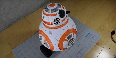 This Arduino-Powered 3D Printed BB-8 Droid is Probably the Cutest 3D Printing Project Ever | Raspberry Pi | Scoop.it