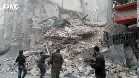 Nov22: Airstrike hits hospital ; massive casualties reported, Rebels say Syria hospital strike kills 40 | News from Syria | Scoop.it
