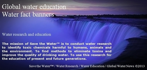 Free Water Fact Banners Water Education Resource Directory | Save the Water | Water Education | Scoop.it