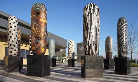 Jun Kaneko: Rhythm | Art Installations, Sculpture, Contemporary Art | Scoop.it