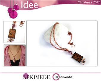 What happens in a creative mind: ARKIMEDE Ornamenta regala un gioiello per Natale | Creativita' e fai-da-te | Scoop.it