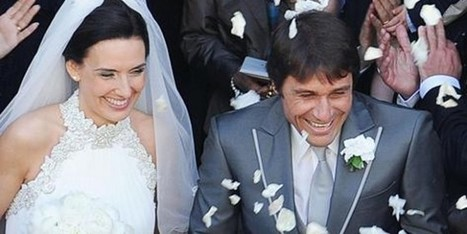 Antonio Conte dopo lo scudetto sposa Elisabetta a Torino - Sfilate | Moda Donna - sfilate.it | Scoop.it