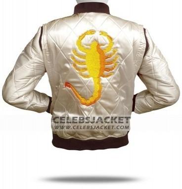 Ryan Gosling Scorpion Drive Jacket   Celebsjacket.com   Scoop.it