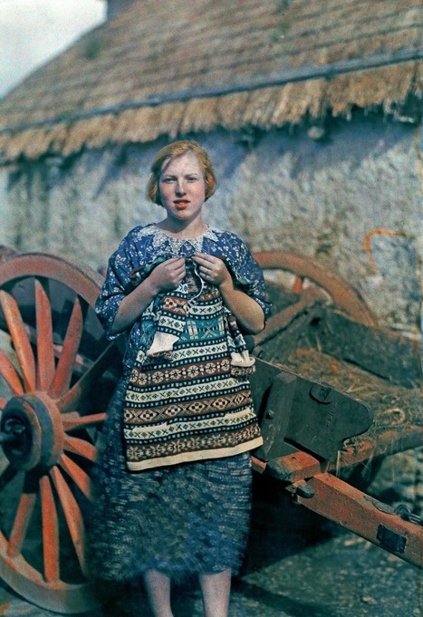 Idyllic color photos of Ireland in 1927   Handcraft - knitting, crocheting, sewing, embroidery   Scoop.it