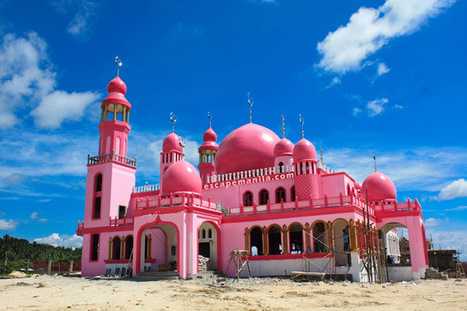 Maguindanao's Pink Mosque and Inaul Weaving Center ~ Escape Manila | Philippine Travel | Scoop.it