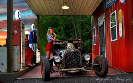 The Kustom Kulture World of Angel Factory Photography | Rockabilly | Scoop.it