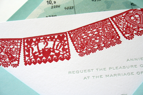 things are better with a parrott: Papel Picado Wedding Down Under | papel picado | Scoop.it