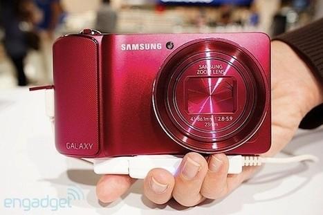 Photokina 2012 - Samsung Galaxy Camera se viste de rosa | Tecnología 2015 | Scoop.it
