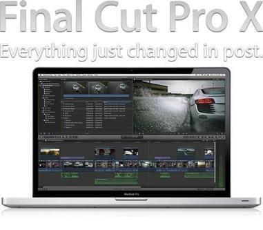 Apple Final Cut Pro X for Mac (1 dvd)