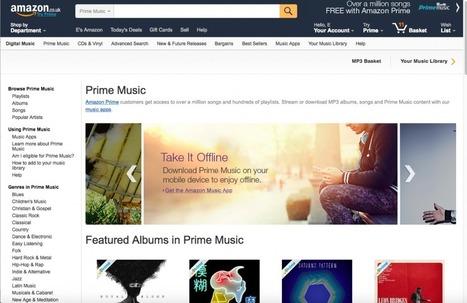 Amazon Prime Music has 'several million people using it' | Musicbiz | Scoop.it