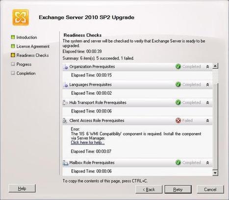 Installing Exchange 2010SP2 | Windows Infrastructure | Scoop.it
