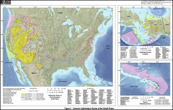 Sedimentary basins of the US - new catalog from USGS | Geology | Scoop.it