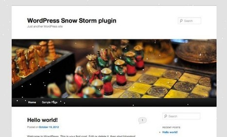 10 excelentes plugins de WordPress para Navidad | Presencia Social y Mundo 2.0 | Scoop.it
