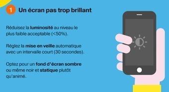 Info Magazine: 7 conseils clés pour optimiser l'autonomie de votre smartphone [infographie] | Smartphones&tablette infos | Scoop.it