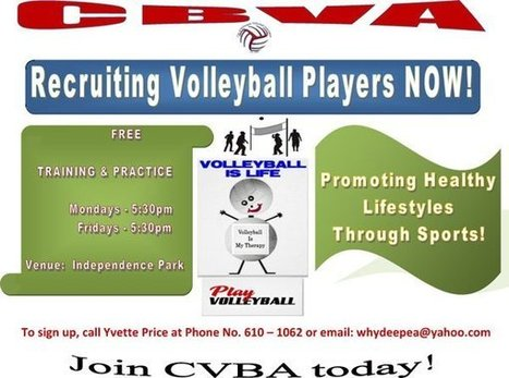CBVA now recruiting volleyball players   Coaching Volleyball   Scoop.it