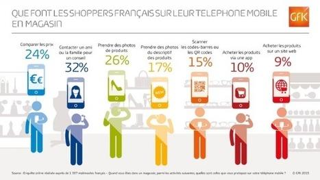 Etude GFK : shoppers et mobile la compétition online dans les rayons | Best omnichannel experiences & store-digitalisation | Scoop.it