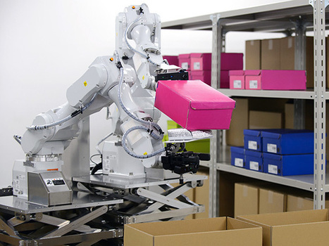 Hitachi Developing Dual-Armed Robot for Warehouse Picking | Post-Sapiens, les êtres technologiques | Scoop.it
