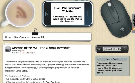 KSAT iPad Curriculum Website | Technology and Education | Scoop.it