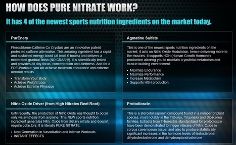 Pure Nitrate Review - GET FREE TRIAL SUPPLIES LIMITED!!! | MUSCLE BUILDING FACADER | Scoop.it