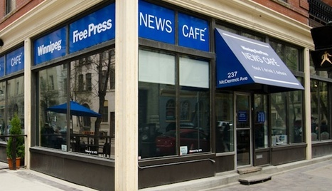 Chats don't have to be online: A newspaper finds success with its downtown news cafe | Public Relations & Social Media Insight | Scoop.it
