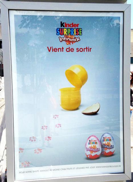 Nouveaux Kinder Surprise Infinimix : une publicité qui fait du n'œuf avec du vieux ? - Communication (Agro)alimentaire | Communication Agroalimentaire | Scoop.it