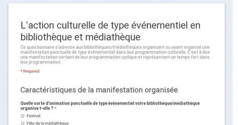 L'action culturelle de type événementiel en bibliothèque et médiathèque | Action culturelle | Scoop.it
