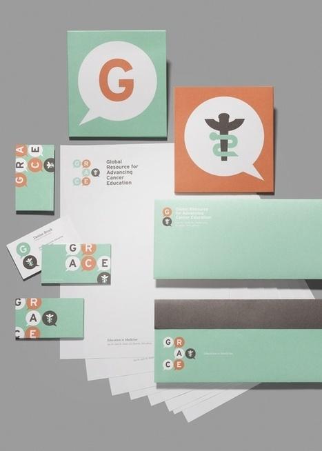 GRACE : sensibiliser et communiquer autour du cancer | Identité visuelle | Scoop.it