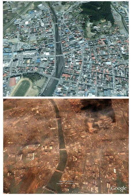 Google Earth desde Japón a un año de la tragedia | OpenZona | #GoogleEarth | Scoop.it