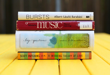 Book Spine Poetry vol. 6: A Working Theory of Love | Brain Pickings | Verse Novels | Scoop.it