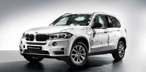 BMW Showed Off Its New Armored SUV By Attacking It With A Machine Gun | Everything | Scoop.it