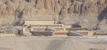El Templo de Hatshepsut. Deir el-Bahari   Viaje hacia la cultura egipcia   Scoop.it