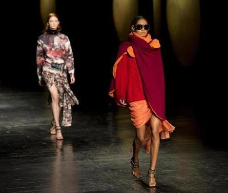 Wrapped attention on the runway - Boston Globe   Fashion   Scoop.it