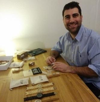 Il crée des montres en bois | Filière bois : Filière d'avenir | Scoop.it