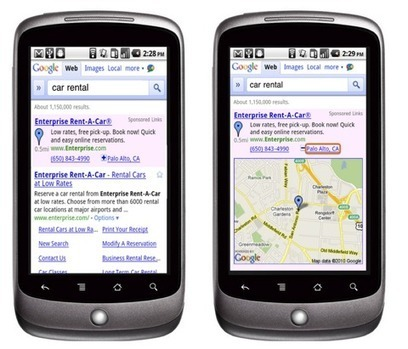 "Google Introduces ""Hyper-Local"" Search Ads For Mobile 