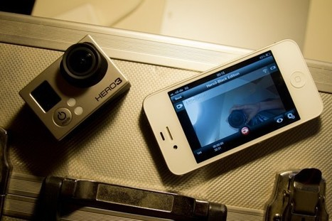 A look at the new GoPro Hero 3 iPhone app – iPhone as wireless monitor and remote control | VIDISM | Scoop.it