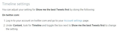 Twitter Begins Rolling Out Algorithmic Timeline, Will Be Opt-In at First | Lifehacker | SocialMoMojo Web | Scoop.it