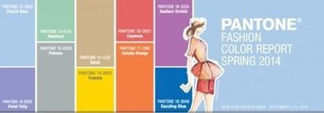 Top Ten de los colores Pantone para la primavera 2014 | DESARROLLO DEL DISEÑO DE MODAS Y TEXTILES | Scoop.it