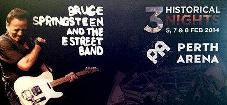 Six « tour premières » pour le 2e concert de Bruce Springsteen à Perth - le Blog Bruce Springsteen   Bruce Springsteen   Scoop.it