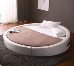 Cool bed ideas:Comfy and modern round bed. | Daily Dose of Awesomeness | Scoop.it