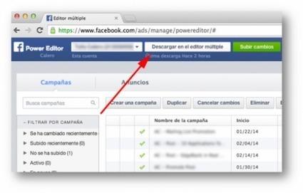 Power Editor de Facebook: 6 pasos para potenciar tus campañas de publicidad | SocialMediaLand | Scoop.it
