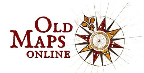Old Maps Online | Revue de tweets | Scoop.it