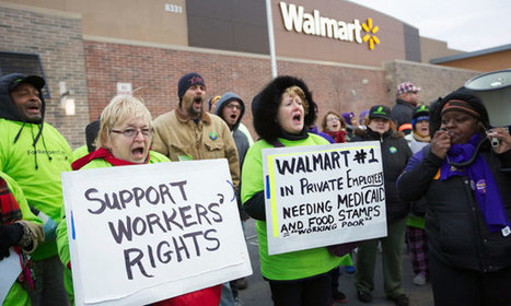 Workers and critics greet Walmart pay raise but say much remains to be done | sustainablity | Scoop.it