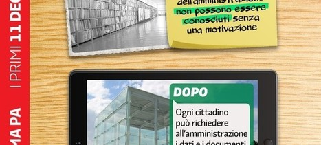 Decreto trasparenza: senza modifiche drastiche non è un vero FOIA | Foia4Italy | Cittadini reattivi: news su ambiente, salute, legalità e cittadinanza attiva | Scoop.it