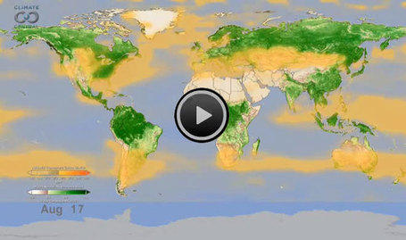 NASA Animation: Watching the Earth Breathe | Climate Central | Sustain Our Earth | Scoop.it